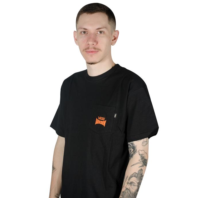 Camiseta Vans Dexter Pocket Tee Preta