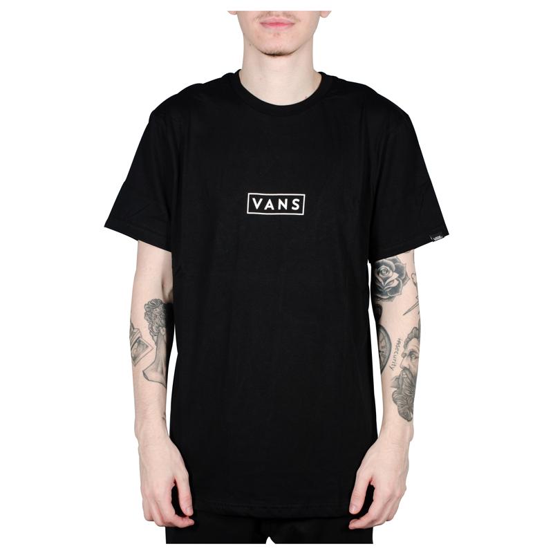 Camiseta Vans Easy Box Preto