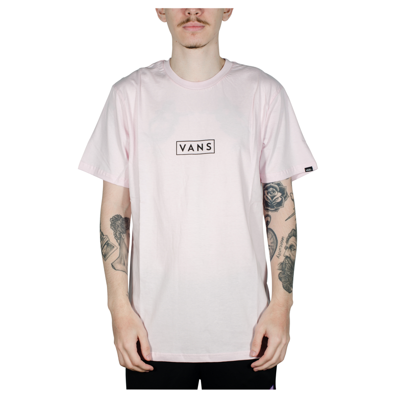 Camiseta Vans Easy Box SS Rosa V4701603330009