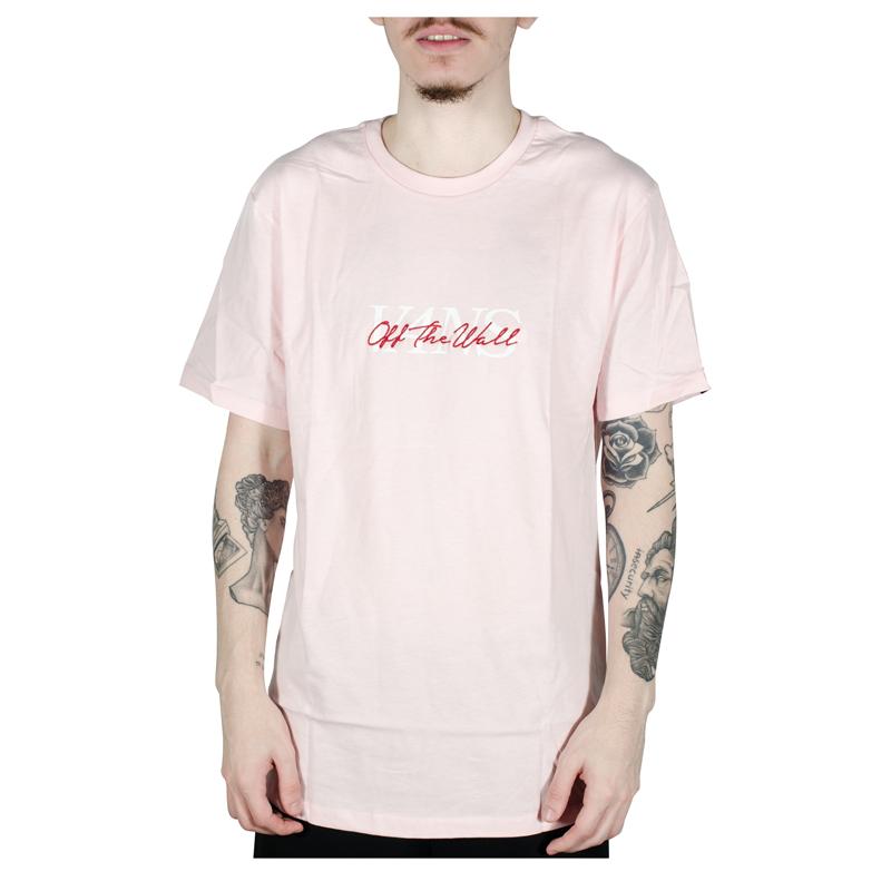Camiseta Vans On The Vans SS Cool Rosa