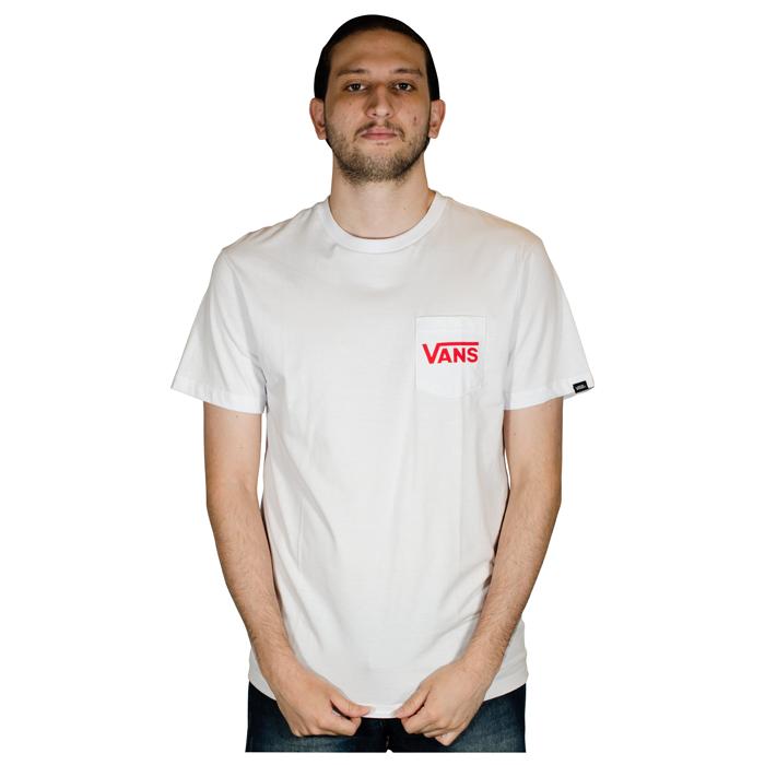 Camiseta Vans OTW Classic Branca VN0A4BT2