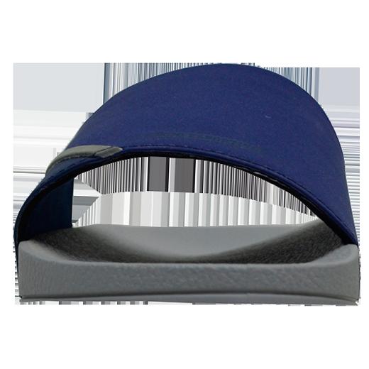 Chinelo Slide Öus de Rider Cinza/Azul Marinho