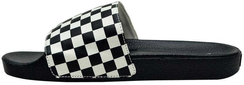 Chinelo Vans Slide-On Checkboard Preto / Branco