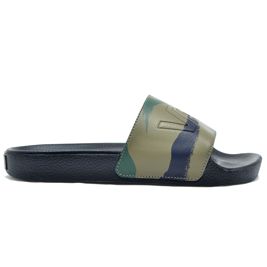 Chinelo Vans Slide-On Peace Leaf Camo