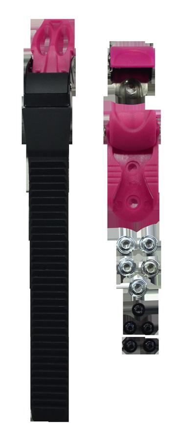 Fivela Patins Traxart RX-4 Pink + parafusos