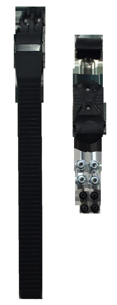 Fivela Patins Traxart RX-5 DS-002 + parafusos