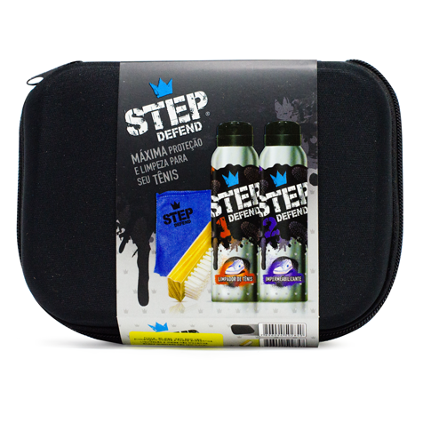 Kit  de Limpeza para Tênis Step Defend