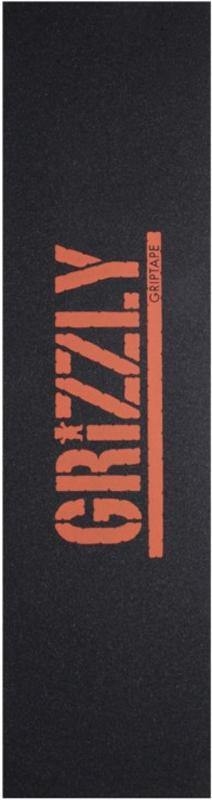 Lixa Grizzly com Escrita Laranja