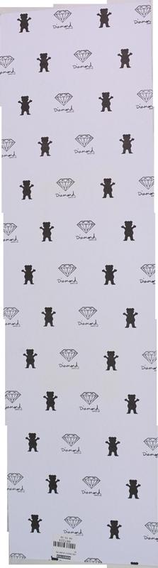 Lixa Grizzly com Fundo Tie Dye e Escrita Preta