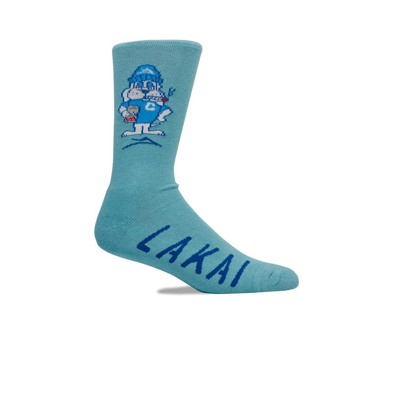 Meia Lakai Cold Dawg Azul