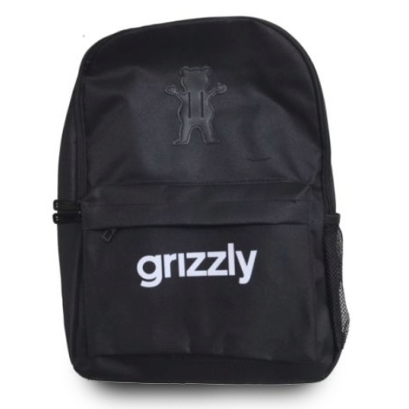 Mochila Grizzly OG Logo Black