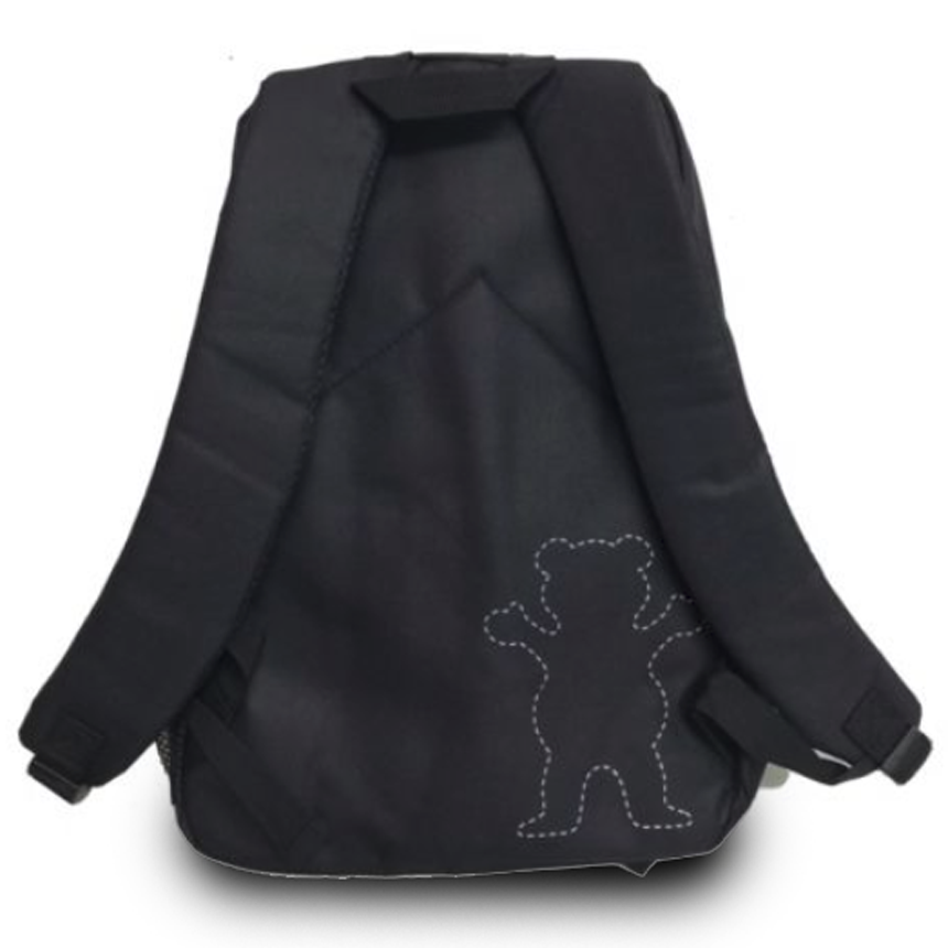 Mochila Grizzly OG Logo Black
