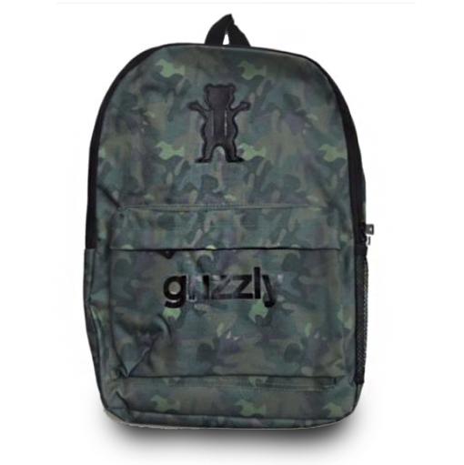 Mochila Grizzly OG Logo Military