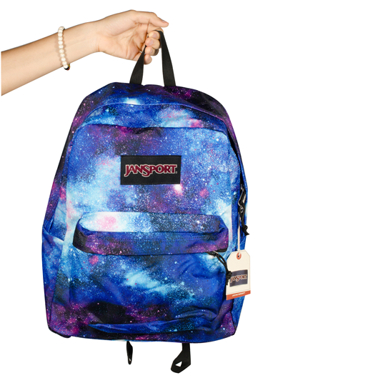 Mochila JanSport Black Label Superbreak Universo