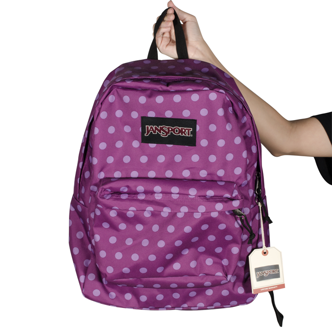Mochila JanSport Black Label Superbreak Roxa