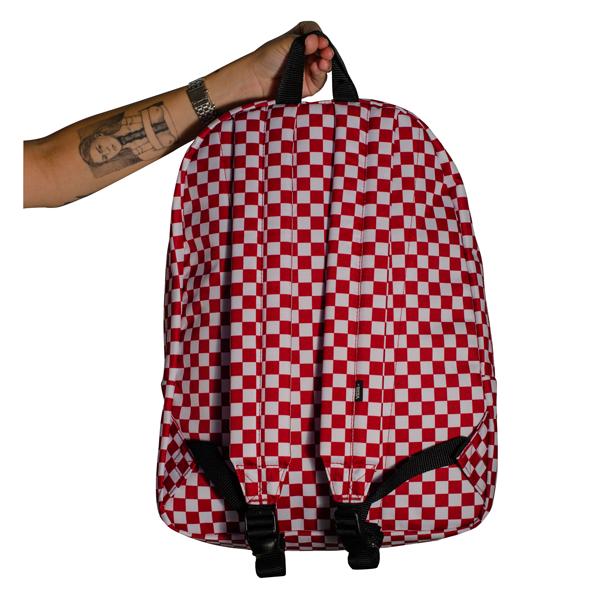 Mochila Vans Old Skool III Checkerboard / Red