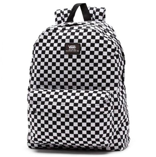 0f335f64e9 Mochila Vans Old Skool ll Backpack Check Preto / Branco