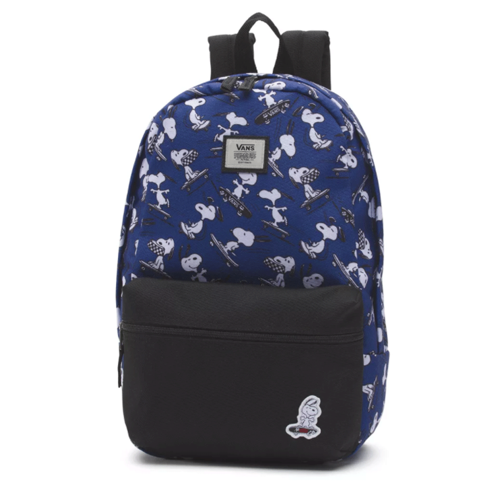 Mochila Vans Peanuts Calico Backpack Snoopy eeaebbfd7bc