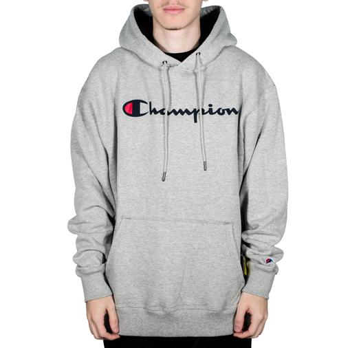 Moletom Champion Canguru Cinza