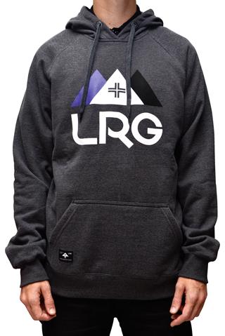 Moletom LRG Edition Pullover Hoodie Mescla Chumbo