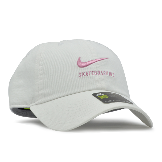 Boné Nike SB Heritage 86 Aba Curva Branco