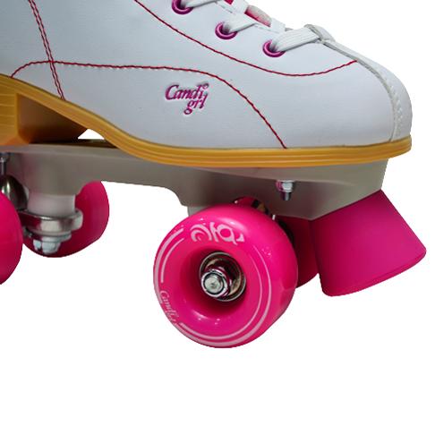 Patins Quad Roller Derby Candi Girl Sabina Branco / Rosa