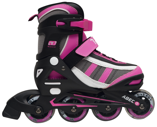 Patins Traxart Energy Rosa Nylon