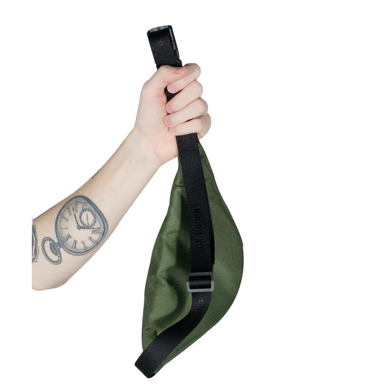 Pochete Hocks Mister Verde Militar
