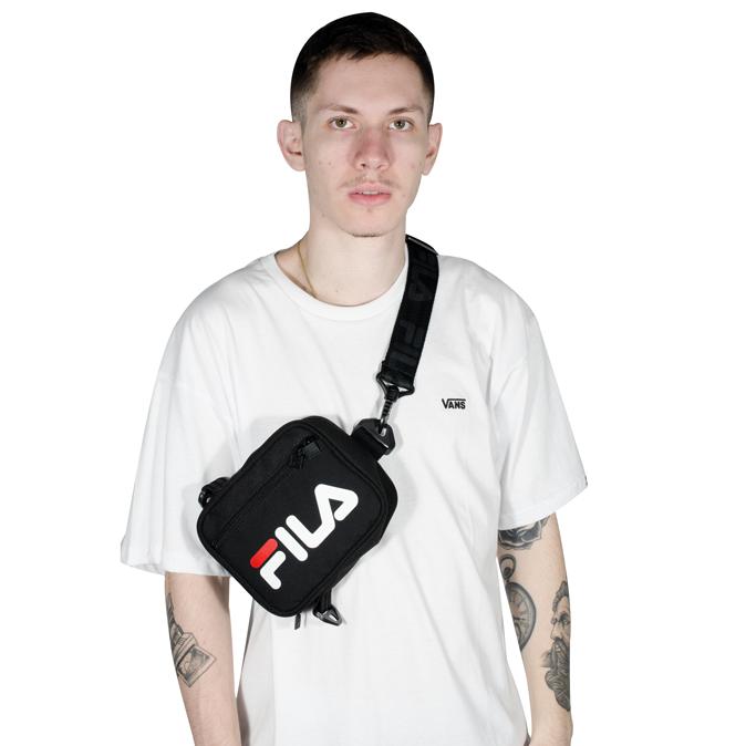 Pochete Shoulder Bag Fila Versatili Preta