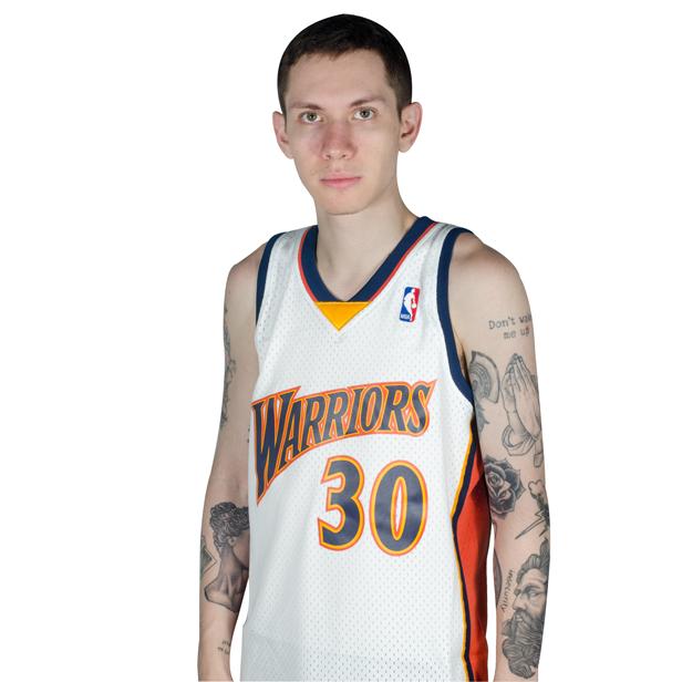 Regata NBA Swingman Golden State Warriors 30 Branca