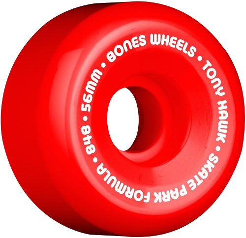 Roda Bones SPF 56mm 84b Mini Cube Vermelha - 4unid.