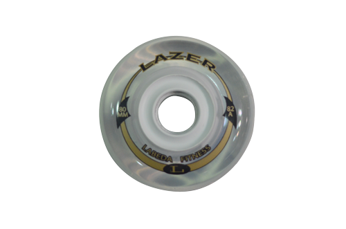 Roda Labeda Lazer 80mm / 82A - 8 unid.