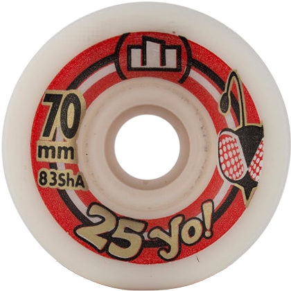 Roda Longboard (Speed) Moska 25Yo 70mm 83A - 4 unid.