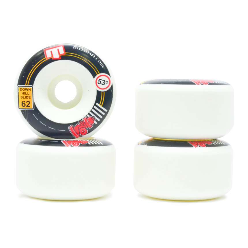Roda Moska Downhill Slide 62mm 53D - 4 unid.