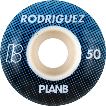 Roda Street Plan-B Paul Rodriguez Spectrum 50mm 99A - 4 unid.