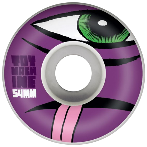 Roda Street Toy Machine Sect Natural 54mm 100A - 4 unid