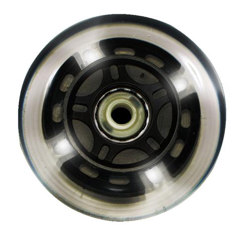 Roda Traxart LED Branco- 80mm / 80A - 4 unid.