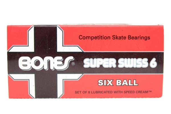 Rolamento Bones Swiss 6 Ball - 8 unid.