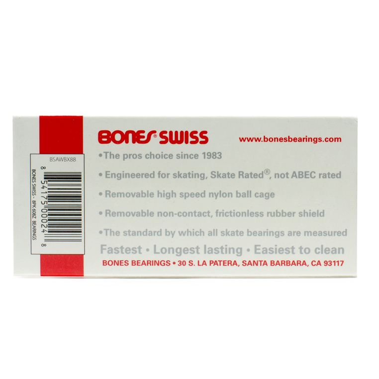 Rolamento Bones Swiss - 8 unid.