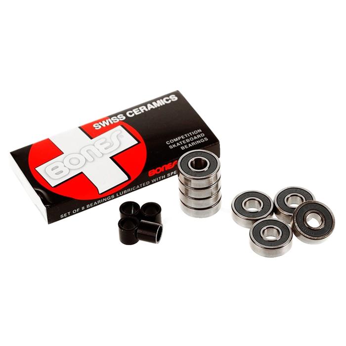 Rolamento Bones Swiss Ceramics - 8 unid.