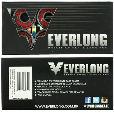 Rolamento Everlong ABEC-7 - 8 unid.