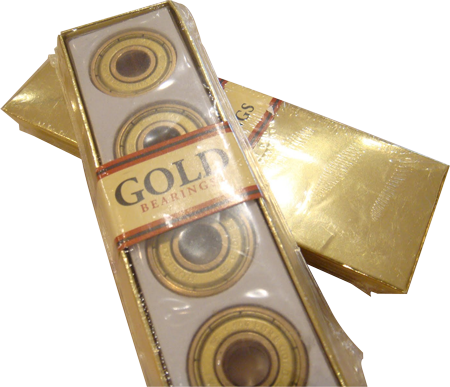 Rolamento Gold Abec-7 - 8 unid.