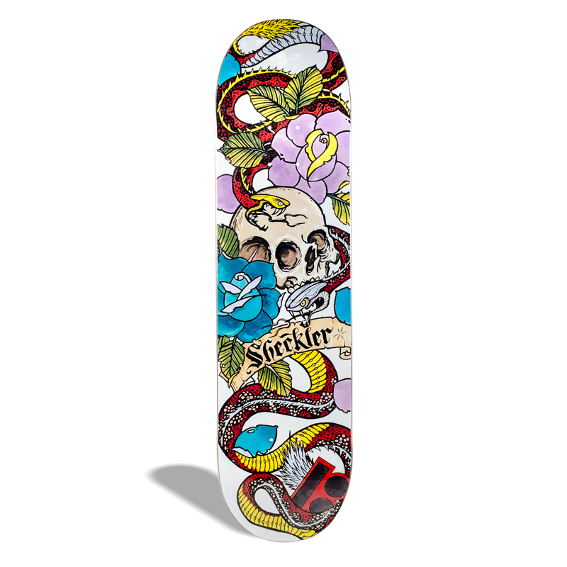 Shape de Skate Maple Plan B Sheckler Cranial