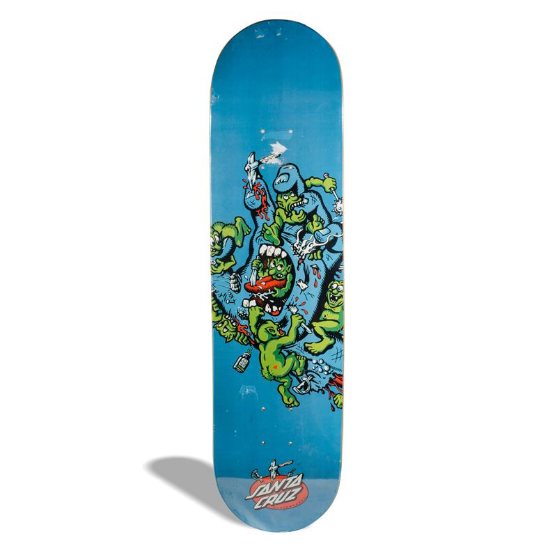 Shape de Skate Powerlite Santa Cruz Gremilin Patrol 7.75''