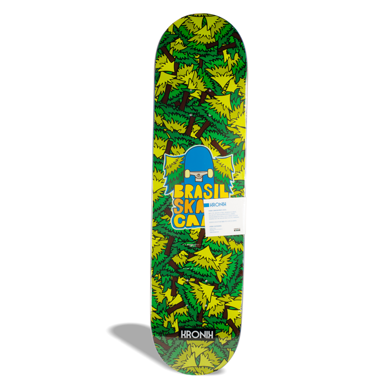 Shape de Skate street Maple Kronik Brasil Skate Camp PRO Model 8.0''