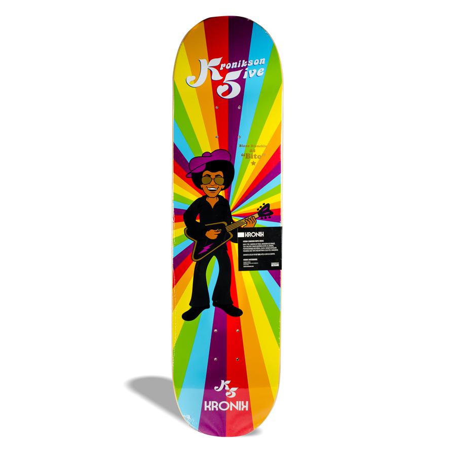 "Shape de Skate Street Maple Kronik Kronikson 5 ""Bito"" Biano Bianchin PRO Model 8.0''"