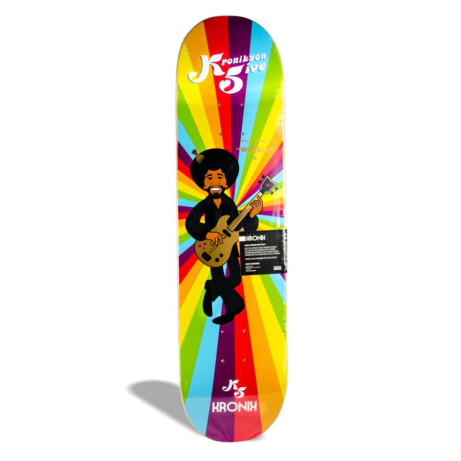"""Shape de Skate Street Maple Kronik Kronikson 5 """"Wagkie"""" Wagner Ramos PRO Model 7.9''"""