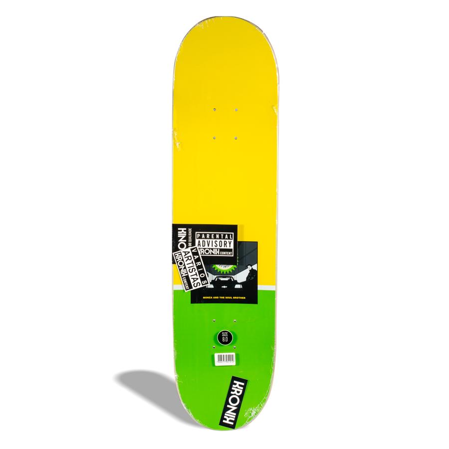 Shape de Skate Street Maple Kronik Monza Carlos Piolho PRO Model 8.0''