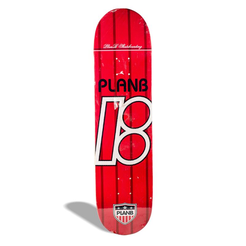 Shape de Skate Street Maple Plan B One Vermelho 8.00''