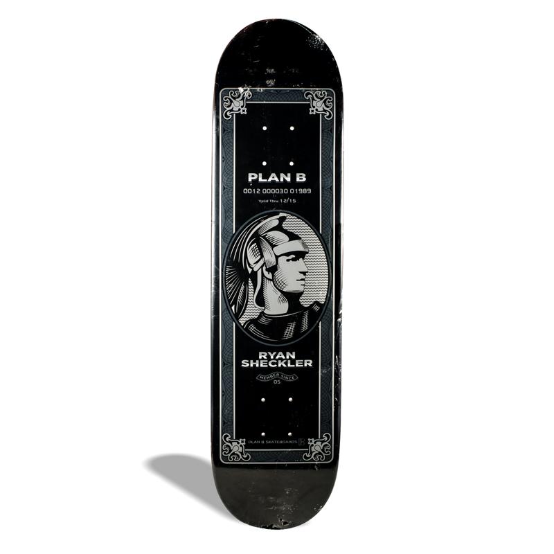 Shape de Skate Street Maple Plan B Ryan Sheckler Preto 8.00''